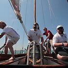 Galatea Racing at the Panarai Classic Yacht Race 2013 by Murray Breingan
