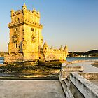 Belem Tower (Torre de Belem) in Lisbon by Michael Abid