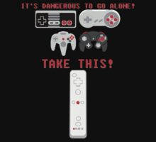 It's dangerous to go alone! T-Shirt