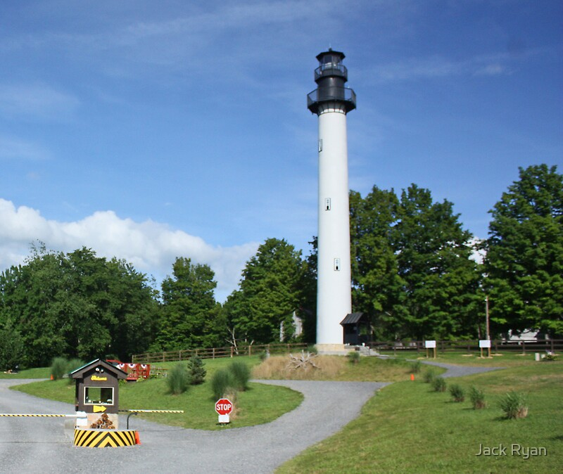 """""""West Virginia's Only Lighthouse"""" By Jack Ryan"""