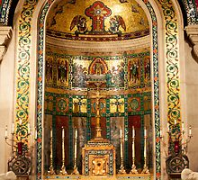 Small Alter in the Cathedral Basilica St. Louis Missouri by barnsis