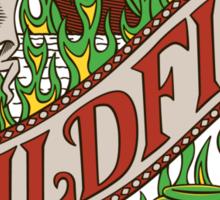 The Green Demon Sticker
