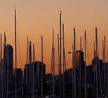 Melbourne Skyline by Keith Midson