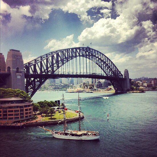 Colours of Sydney Harbour by Alice Cloake