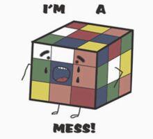 I'm a mess! OCD Rubik's Cube by kenzie2806