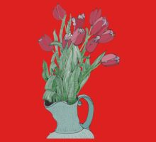 A pitcher of Tulips Kids Clothes