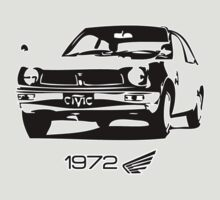Classic Civic 1972 by Kris Graves