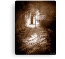 Dingle Path in sepia Canvas Print