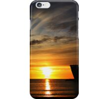 Cold sunset IV iPhone Case/Skin