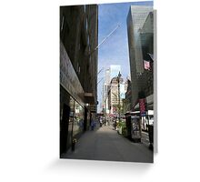 NYC Street Greeting Card