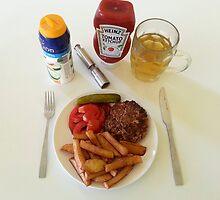 The Best Hamburger Patties by Michael Redbourn