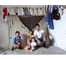 """make poverty history"" - hacer probreza historia Photographic Print"