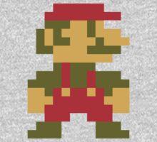 8 bit Mario V.2 Kids Clothes