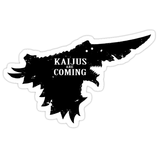 Kaijus Are Coming by Baznet