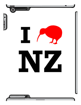 I Love New Zealand (Kiwi) by jezkemp