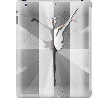 Origami - Swan iPad Case/Skin