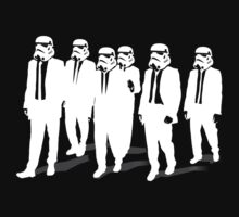 Reservoir Dogs - Stormtrooper - white by Cimoe