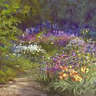 Allium Row by Christine Bass