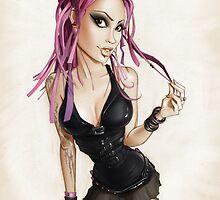 Raven by CartoonPink