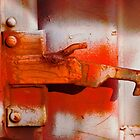 Orange Latch by Lisa G. Putman