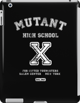 Mutant High School (Dark Colours Version) by soulthrow