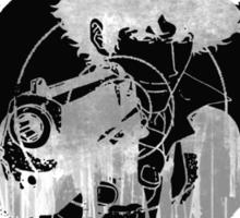 Cowboy Bebop - Gun Shot Target Sticker