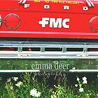 Fire Engine Red by Emma Deer Photography