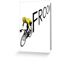 Chris Froome Tour de France 2013 Winner Sky Cycling Greeting Card