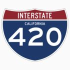 HIGHway 420 - California by IntWanderer