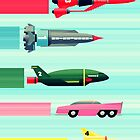 THUNDERBIRDS! by John Medbury (LAZY J Studios)