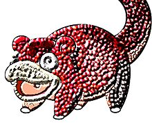 Metallic Slowpoke by linwatchorn