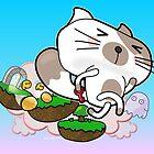 Super Jumpy Cat by Graham Head