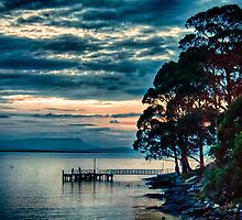 East Cove Jetty by Paul Amyes