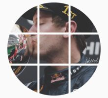 Sebastian Vettel Trophy Kiss by abbei