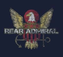 Rear Admiral T-Shirt by toddalan