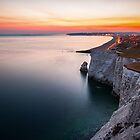 Seaford at dusk by James Calvey