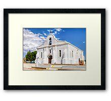 San Elizario Chapel Framed Print