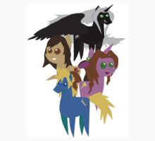 FFVII Cast (In BBBFF Version Of MLP) by FFSteF09