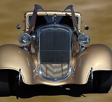 1933 Plymouth Hot Rod Coupe by TeeMack
