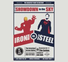 Iron vs Steel by Type40Design