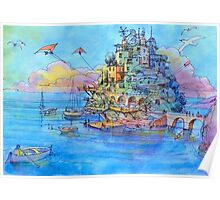 Paesaggio di fantasia Poster