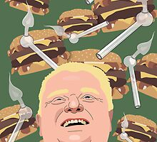Cheeseburgers & Crack by Christina McEwen