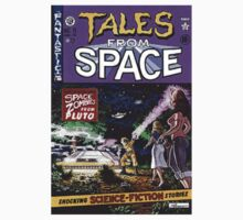 Back to the Future Tales from Space comic cover Kids Clothes
