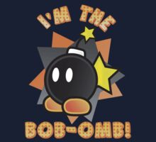 I'm the Bob-omb! Super Mario Kids Clothes