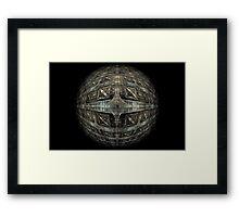 The Death Star Framed Print