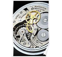 Hamilton 4992B 24 hour aviator pocket watch Poster