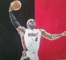 LeBron James by sjhorner