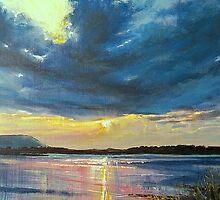 love Irish sky by Roman Burgan