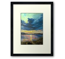 love Irish sky Framed Print