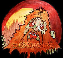 zomBEARD of the apocalypse by byronrempel